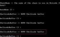 [ShadowBroker]2: NSA工具集EternalChampion漏洞复现、ShellcodeBuffer