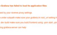 为什么我的grafana无法用nginx反代呢?