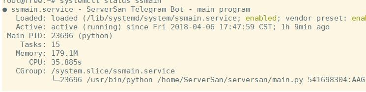 systemd - systemctl不显示内存CPU信息