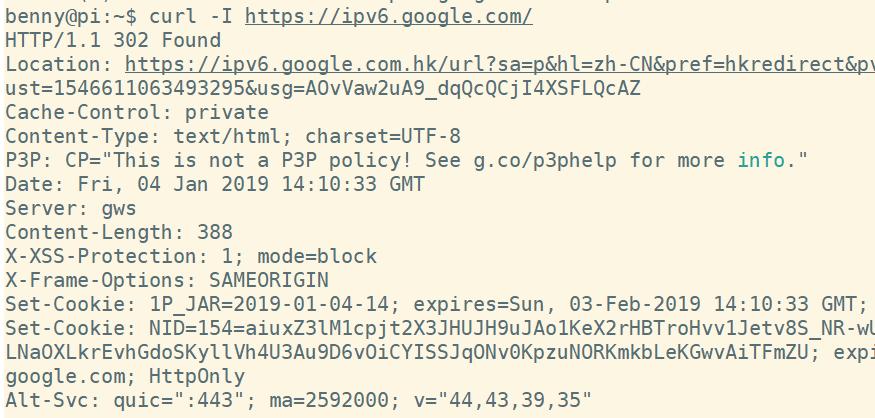 中国移动IPv6使用体验报告